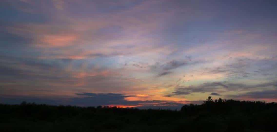 Sunset in Sittsville, Ontario by Dave Doe via Flickr