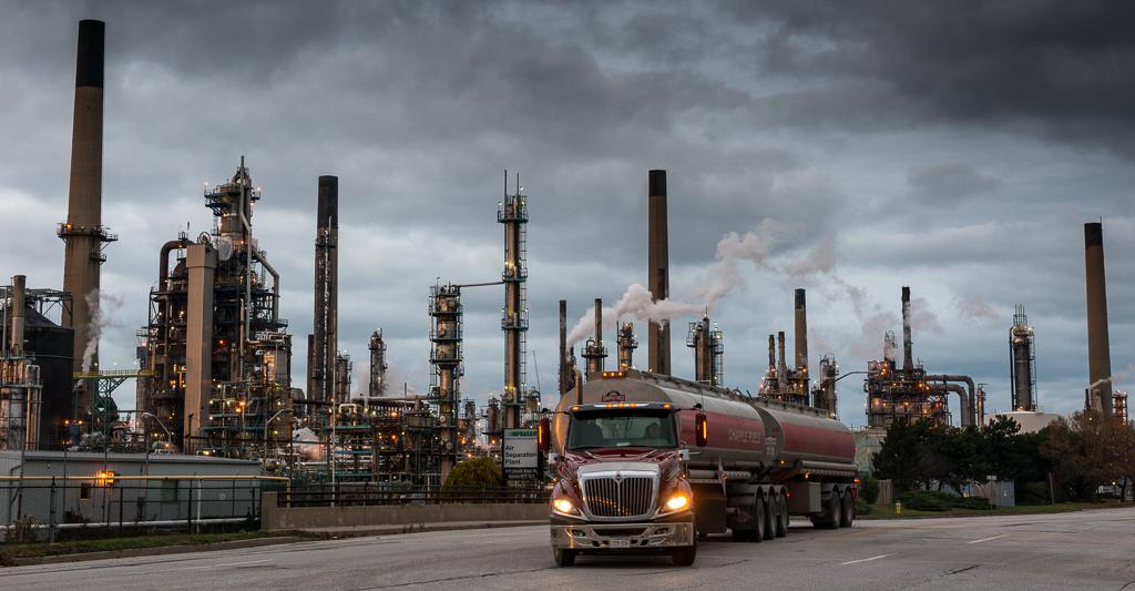 Pollution from billowing smoke stacks cloud Sarnia skies