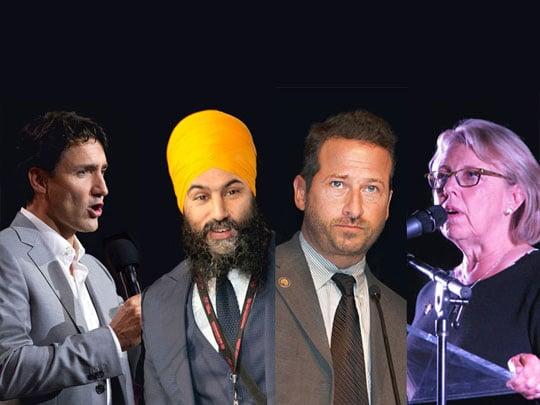 canadian politicians - canada politics - climate