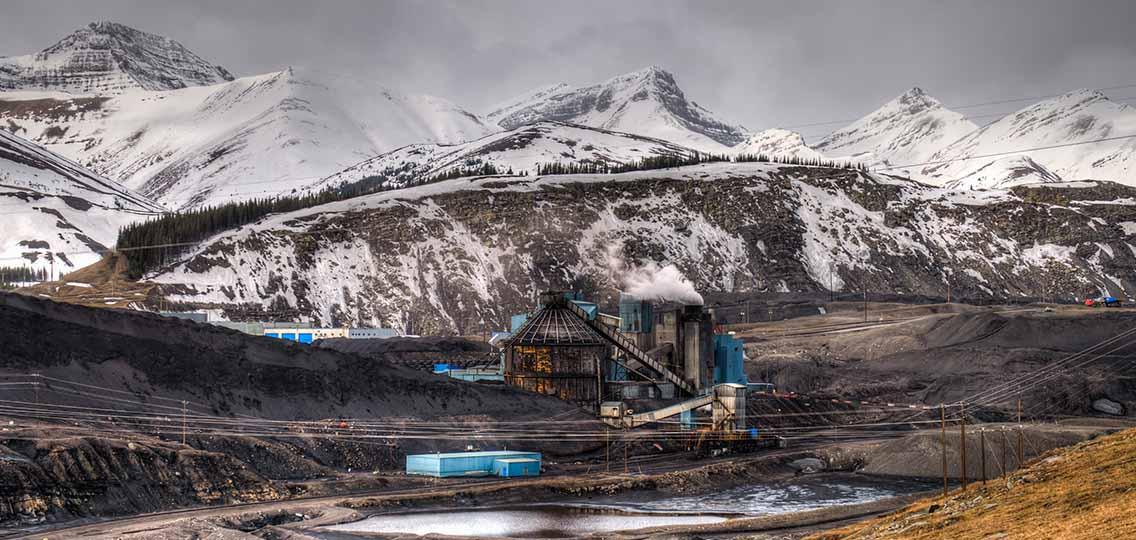 coal mine in ALberta
