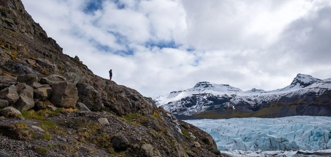 Glacier in Arctic