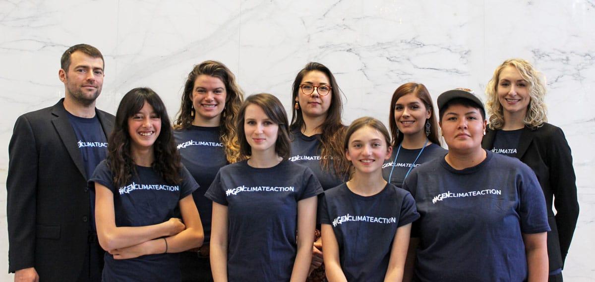 Mathur et. al. youth climate case applicants