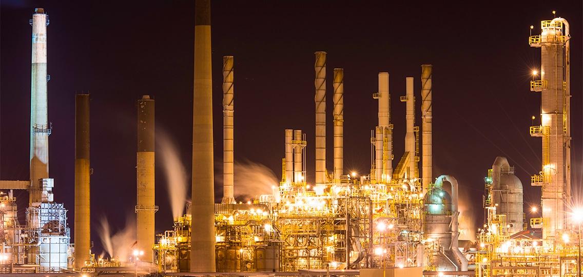 Refinery near Sarnia, Ont.